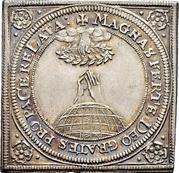 ¼ Thaler (Klippe; Peace of Westphalia) – reverse