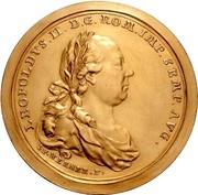10 Ducat (Imperial coronation) – reverse