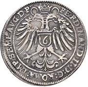 ⅙ Reichsguldiner – reverse