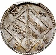 4 Pfennig – reverse