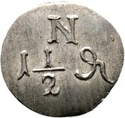 1½ Pfennig – reverse