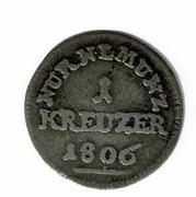1 Kreuzer – reverse