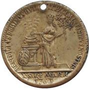 Token (Commemorating 1 Nurnberg thaler 1763) – obverse