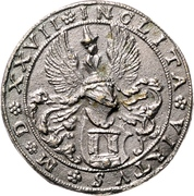 Medal - Albrecht Dürer (Nürnberg) – reverse