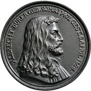 Medal - Albrecht Dürer (Nürnberg; 300 years of death) – obverse
