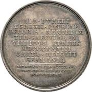 Medal - Albrecht Dürer (300 years of death) – reverse