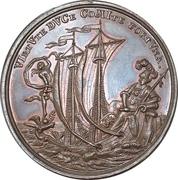 Medal - 100th anniversary of the Wednesday-shooting-society (Mitwochsschiess-Gesellschaft; Nürnberg) – obverse