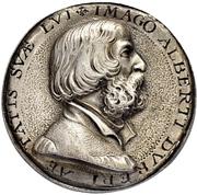 Medal - Albrecht Dürer and Dorothea Susanne von der Pfalz (Nürnberg) – obverse