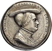 Medal - Albrecht Dürer and Dorothea Susanne von der Pfalz (Nürnberg) – reverse