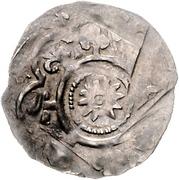 1 Dünnpfennig - Friedrich I. – reverse