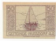50 Heller (Nussdorf am Attersee) -  obverse