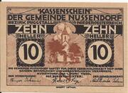 10 Heller (Nussendorf-Artstetten) -  obverse