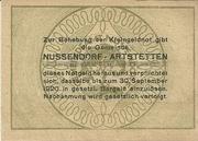 20 Heller (Nussendorf-Artstetten) -  reverse