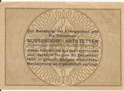 50 Heller (Nussendorf-Artstetten) -  reverse