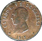 5 Centavos (Provisional Government) – obverse