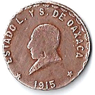 1 Centavo (Provisional Government) – obverse