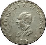 1 Peso (Provisional Government) – obverse