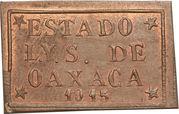 3 Centavos (Provisional Government) – obverse