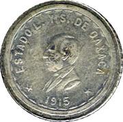 2 Pesos (Provisional Government) – obverse