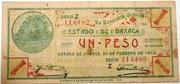 1 Peso ESTADO DE OAXACA – obverse