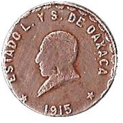 1 Centavo (Provisional Government) – obverse