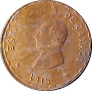 10 Centavos (Provisional Government) – obverse