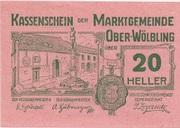20 Heller (Ober-Wölbling) -  obverse
