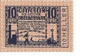 10 Heller (Oberachmann) – obverse