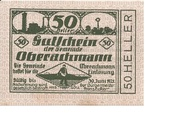 50 Heller (Oberachmann) – obverse
