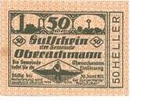 50 Heller (Oberachmann) -  obverse