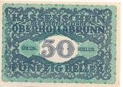 50 Heller (Oberhollabrunn) -  obverse