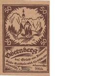 50 Heller (Obernberg bei Gries am Brenner) – obverse