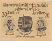 20 Heller (Oberndorf a. d. Salzach) -  obverse