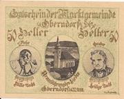 50 Heller (Oberndorf a. d. Salzach) – obverse