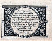30 Heller (Lausa bei Losenstein) -  reverse