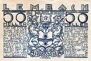 50 Heller (Lembach im Mühlkreis; Blue issue) -  obverse
