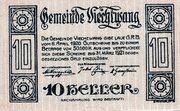 10 Heller (Viechtwang) -  obverse
