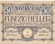 50 Heller (Traiskirchen) -  obverse