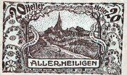 20 Heller (Allerheiligen; Brown obverse) -  obverse