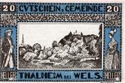 20 Heller (Thalheim bei Wels) -  obverse