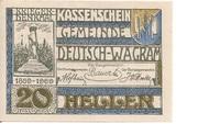 20 Heller (Deutsch-Wagram) -  obverse