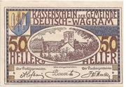 50 Heller (Deutsch-Wagram) -  obverse