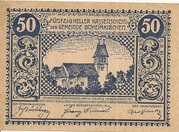 50 Heller (Böheimkirchen) -  obverse