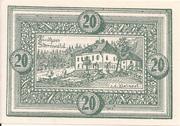 20 Heller (Oberweissenbach und Bernhardschlag) -  obverse