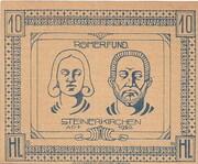 10 Heller (Steinerkirchen an der Traun) -  reverse