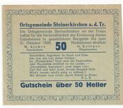 50 Heller (Steinerkirchen an der Traun) -  obverse