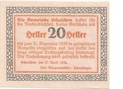 20 Heller (Schalchen) -  reverse