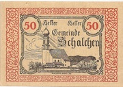50 Heller (Schalchen) -  obverse