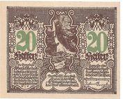 20 Heller (Oberschlierbach) – reverse