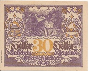 30 Heller (Oberschlierbach) – obverse